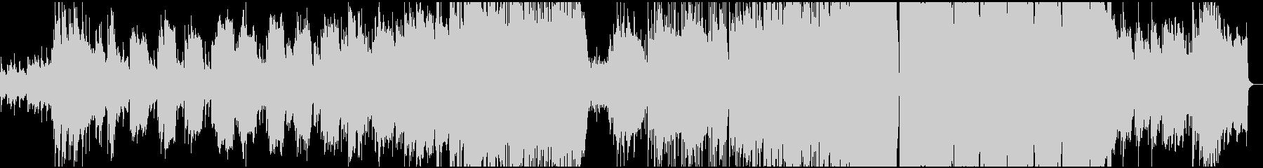 ほのぼのとした雰囲気のポップバラードの未再生の波形