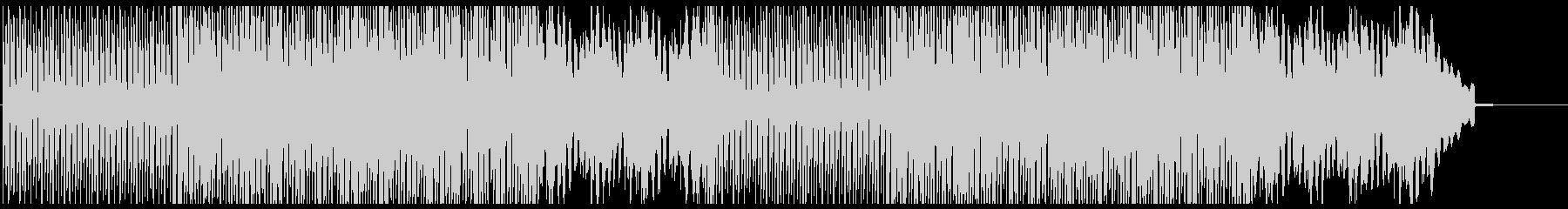 リズミカルでハイテクなユーロビートBGMの未再生の波形