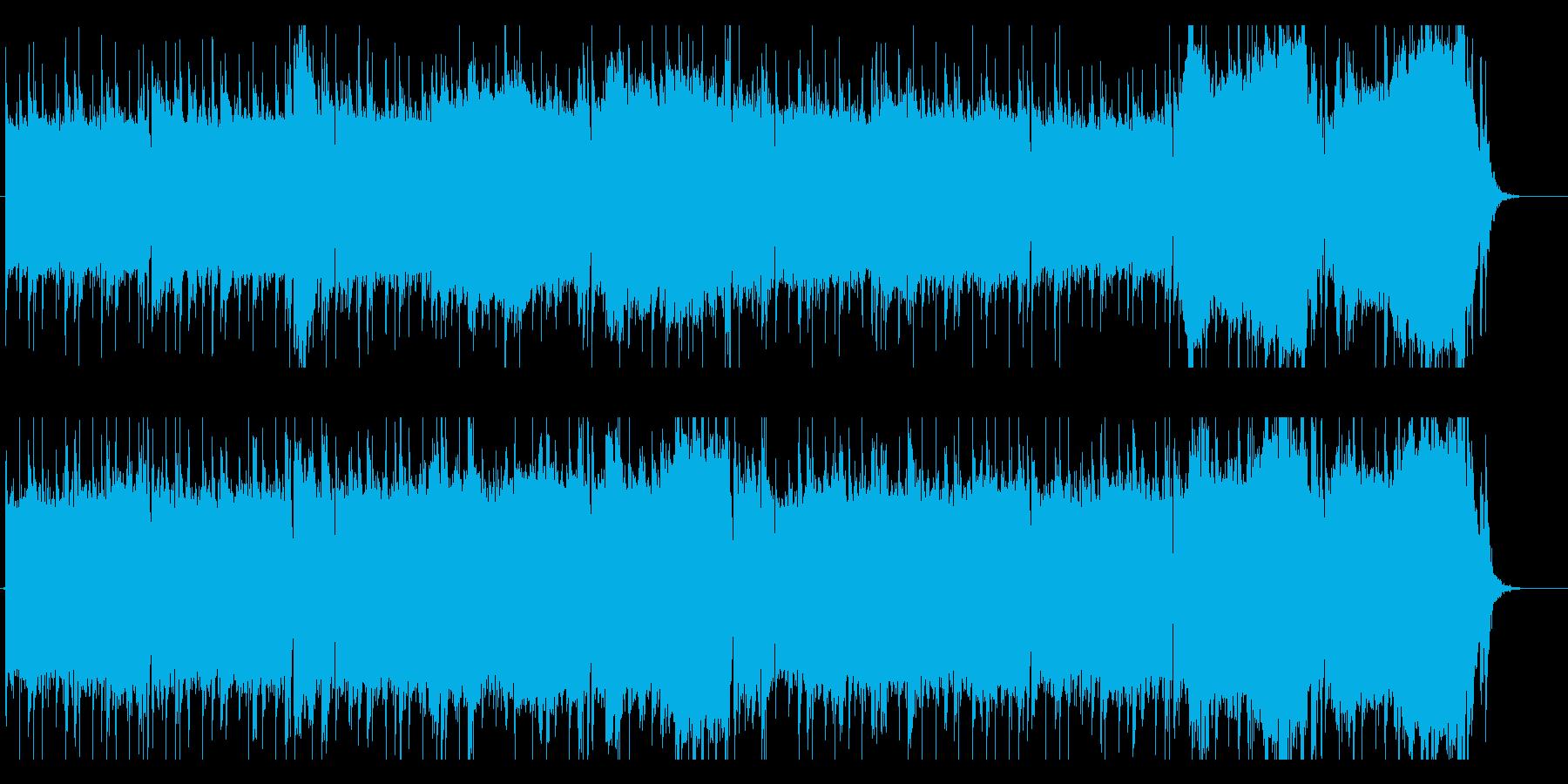 Asianな雰囲気のバラードの再生済みの波形