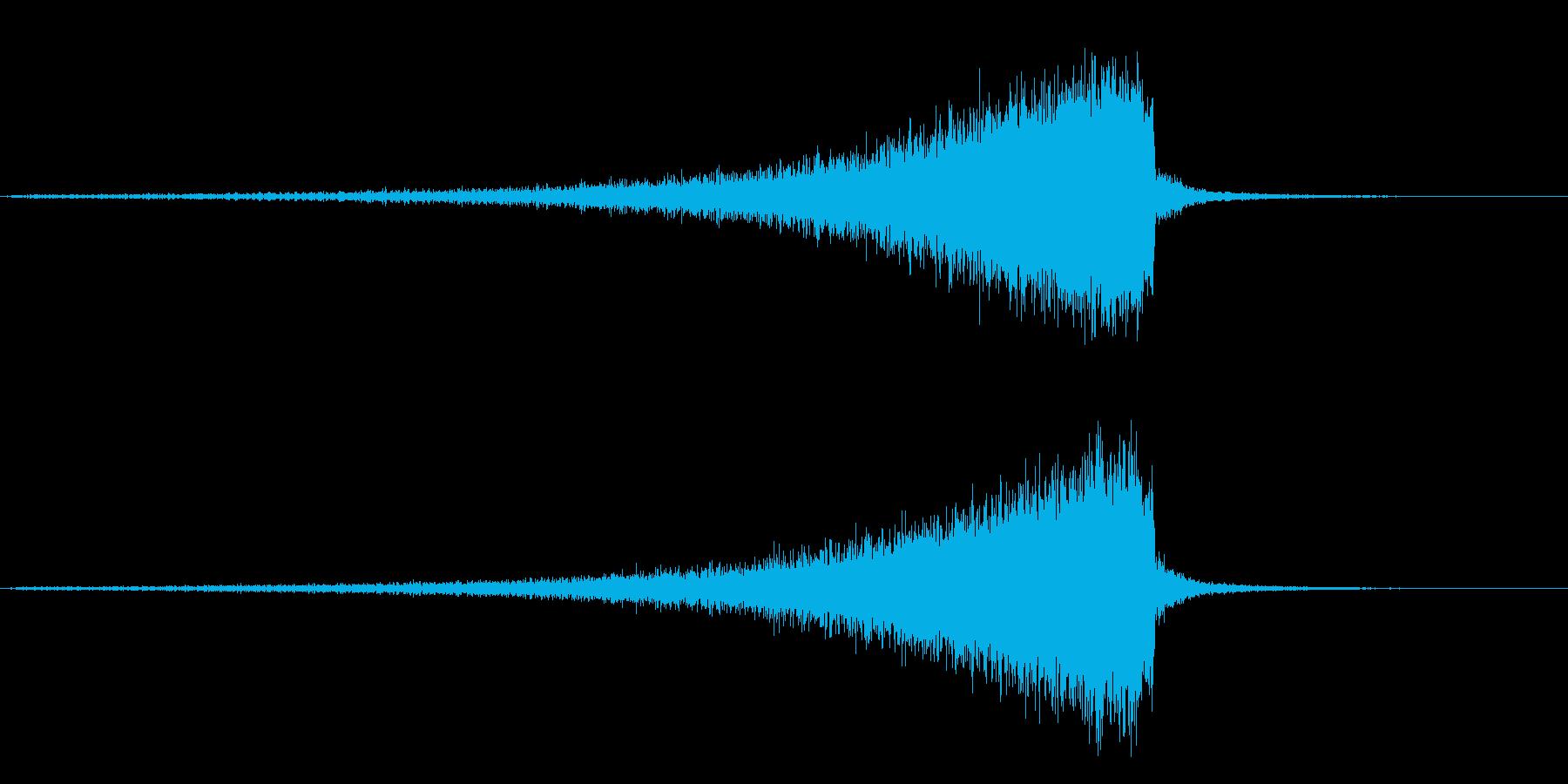 TV RADIO SFX6 ノイズ効果の再生済みの波形