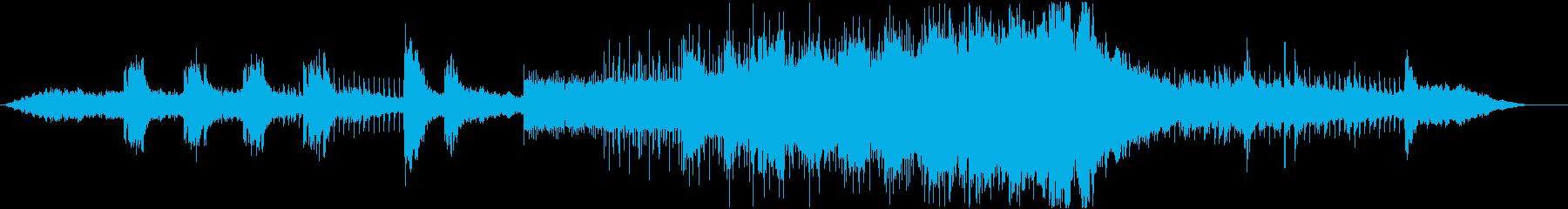 スパイ映画のような音楽の再生済みの波形