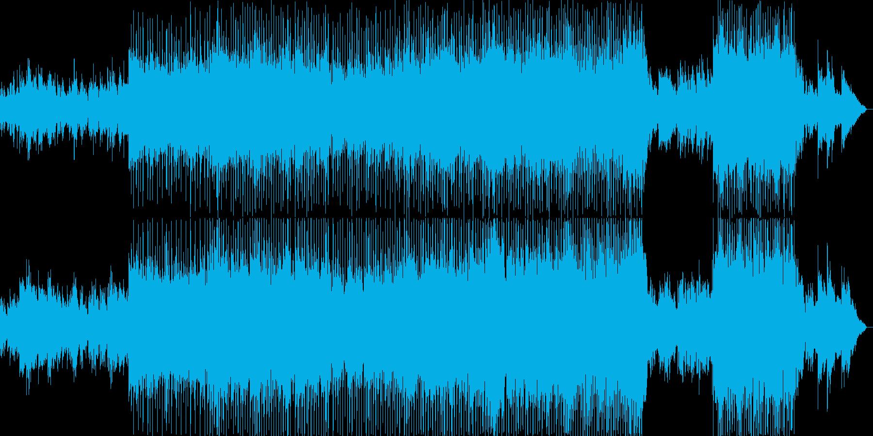 明るくほのぼのとしたポップバラードの再生済みの波形
