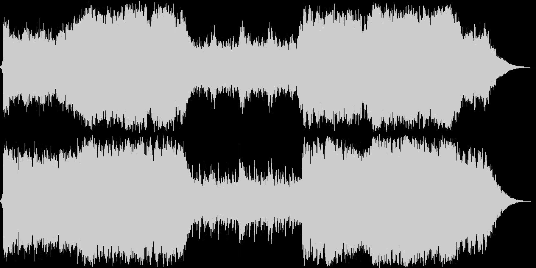 イベントシーン オーケストラの未再生の波形