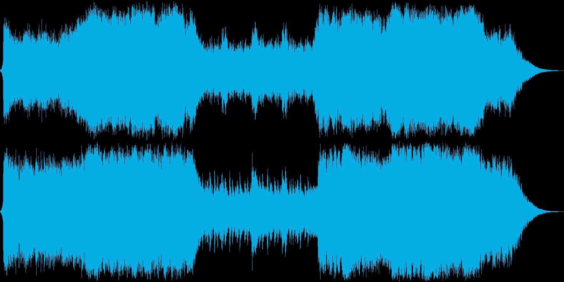 イベントシーン オーケストラの再生済みの波形