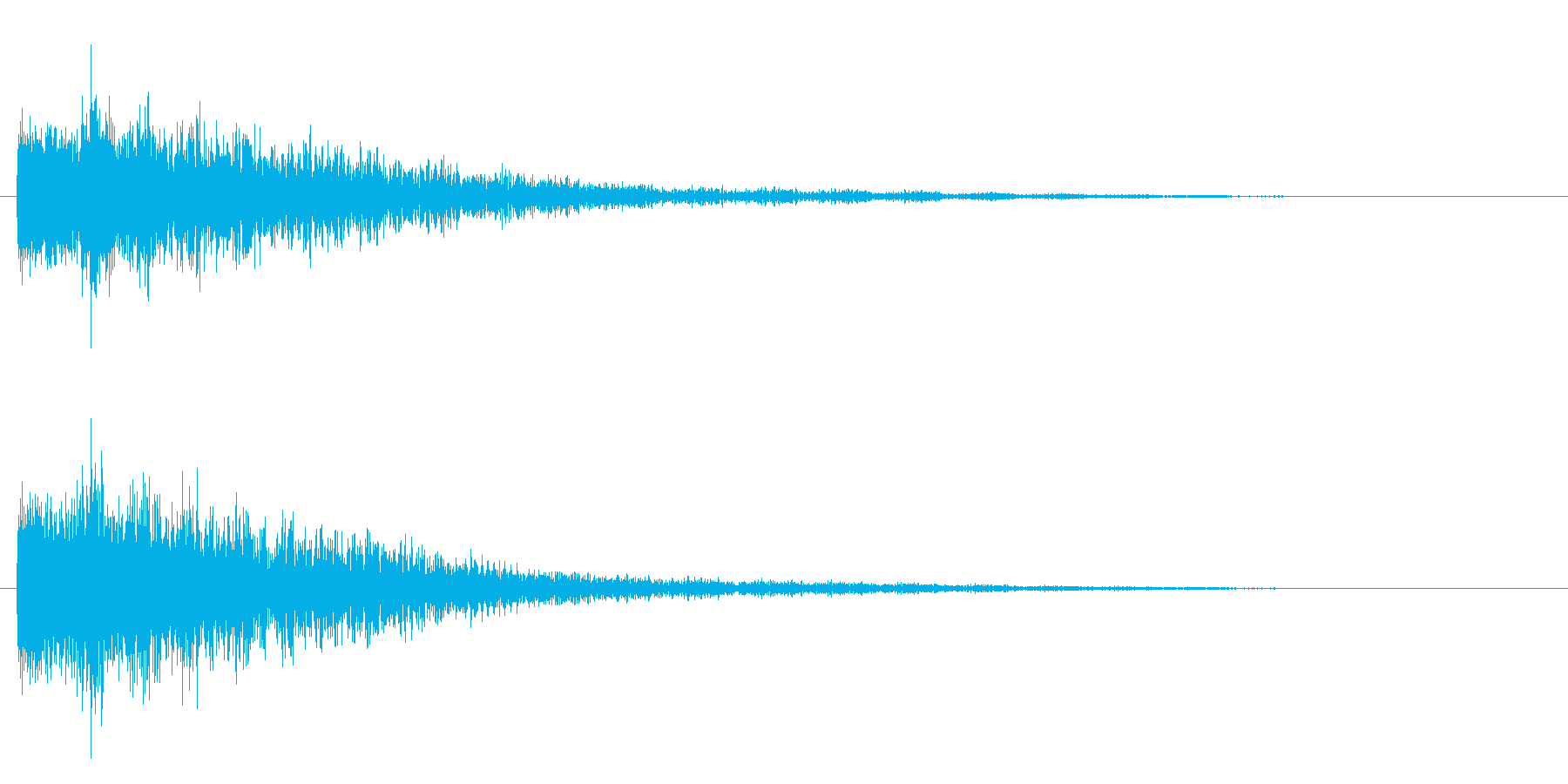 不思議系(ワープ、混乱)の再生済みの波形