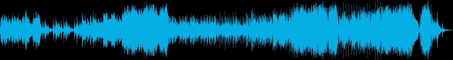 旅立ちをイメージした壮大なBGMの再生済みの波形