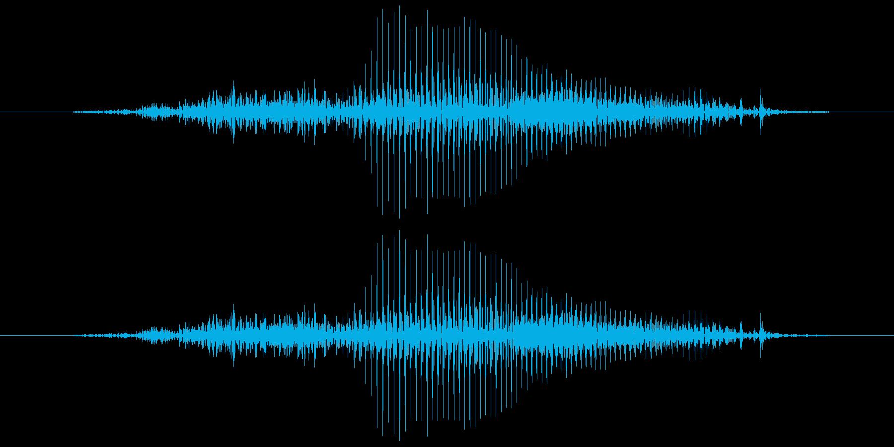 はい!(子供)【返事、掛け声、合図など】の再生済みの波形