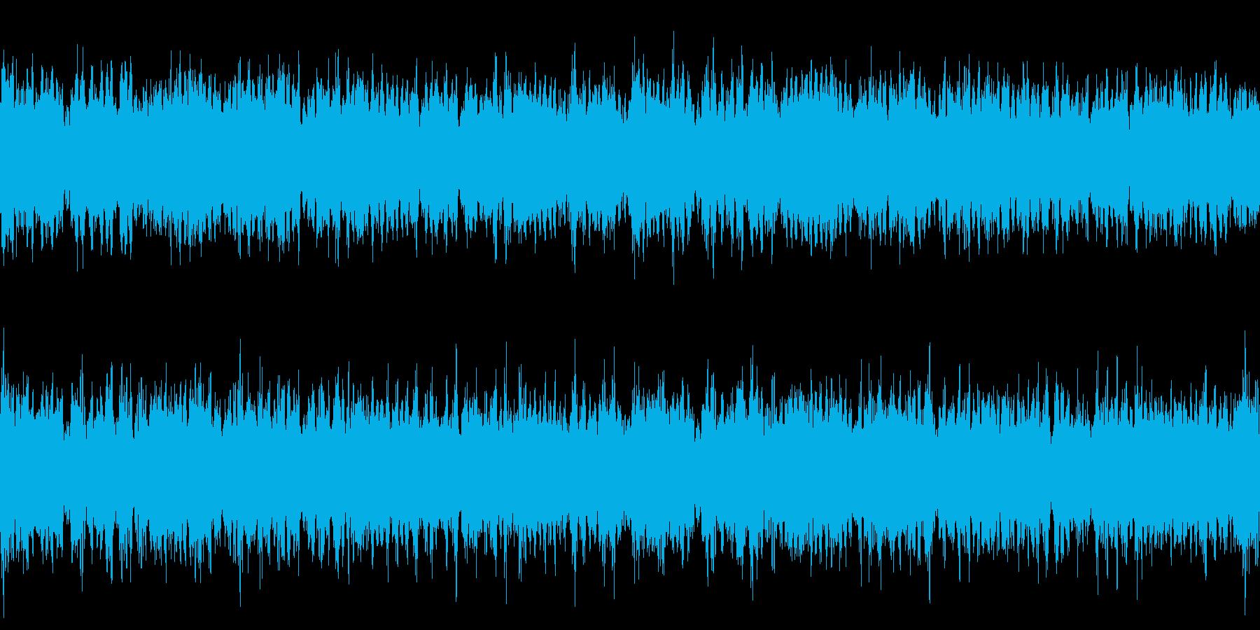 ロープレ城下町用オーケストラの再生済みの波形