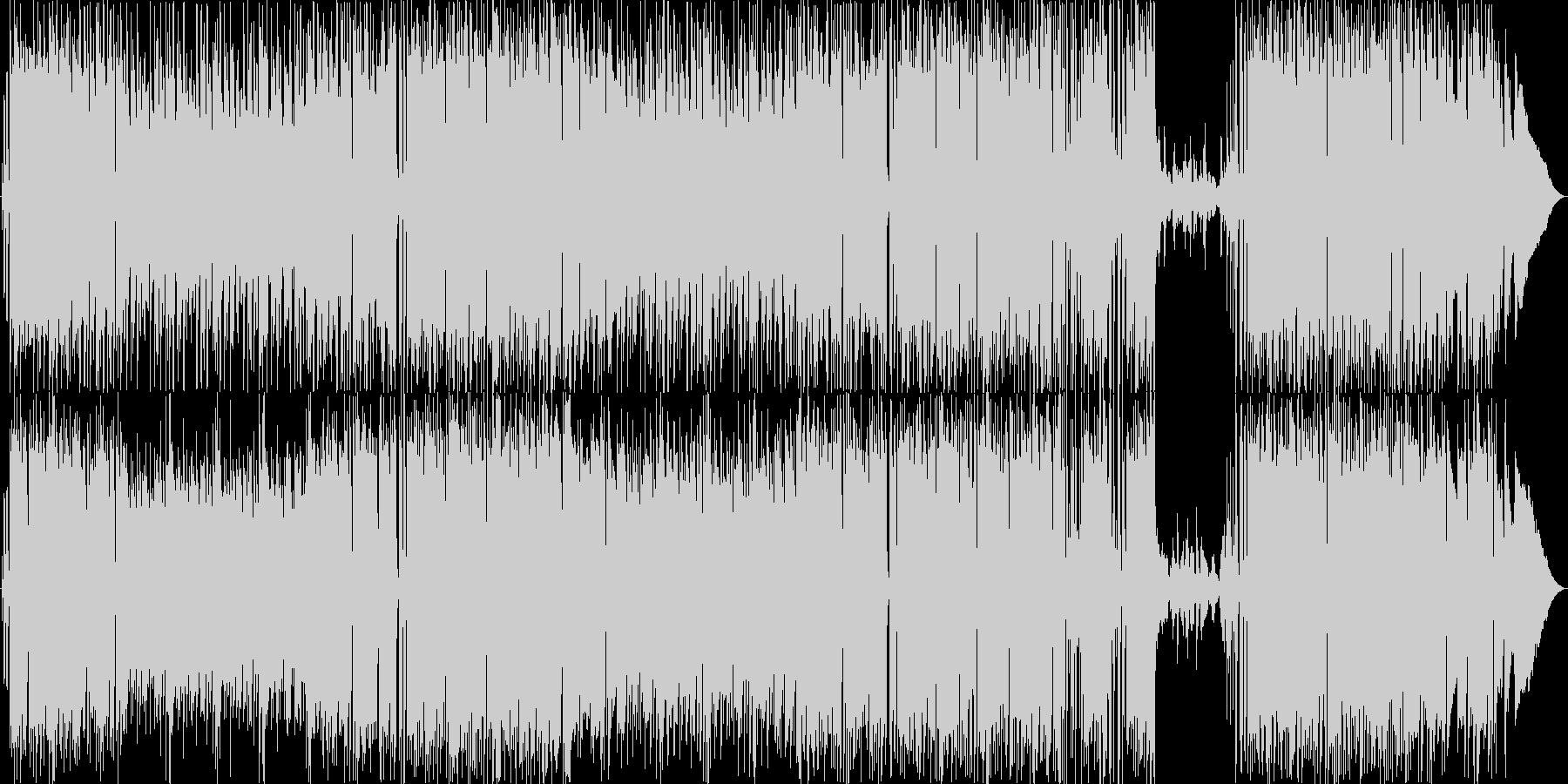ほのぼの&軽いボサノヴァ系ポップスです。の未再生の波形