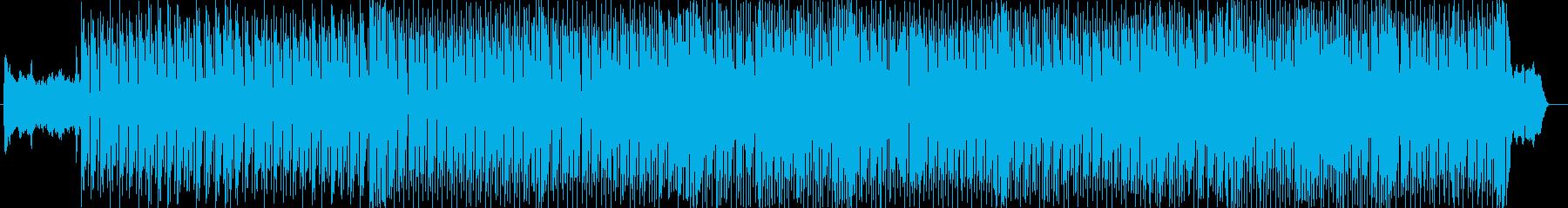 敵地にいるような怪しげなBGMの再生済みの波形