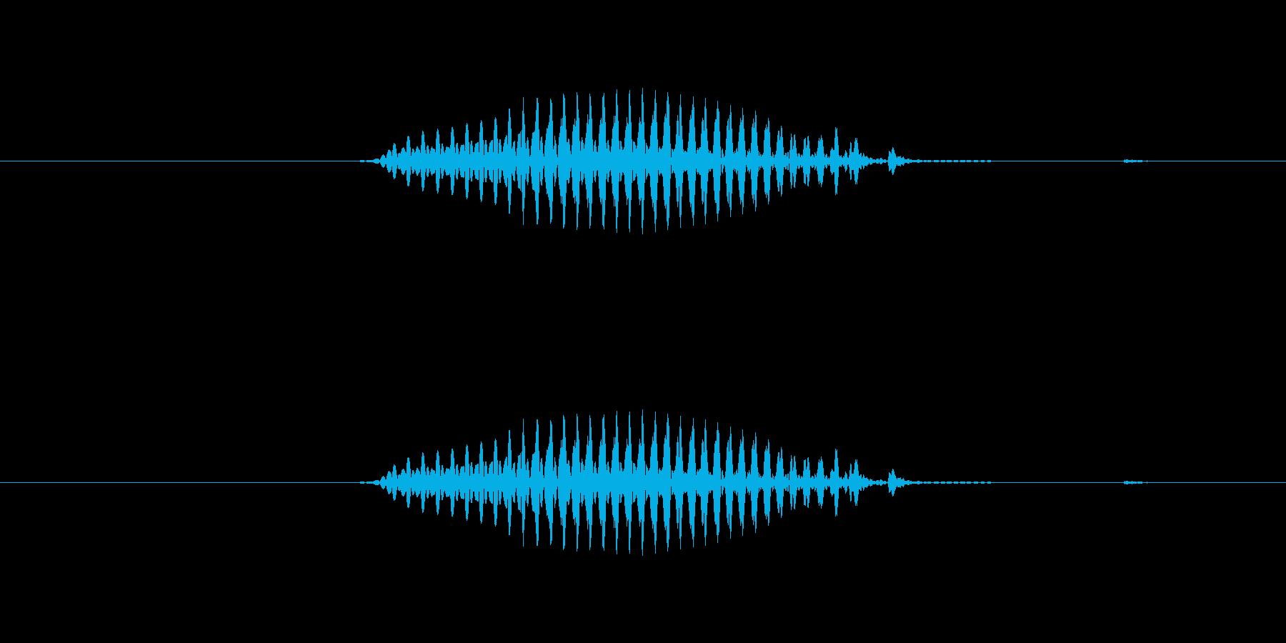 【干支】巳の再生済みの波形