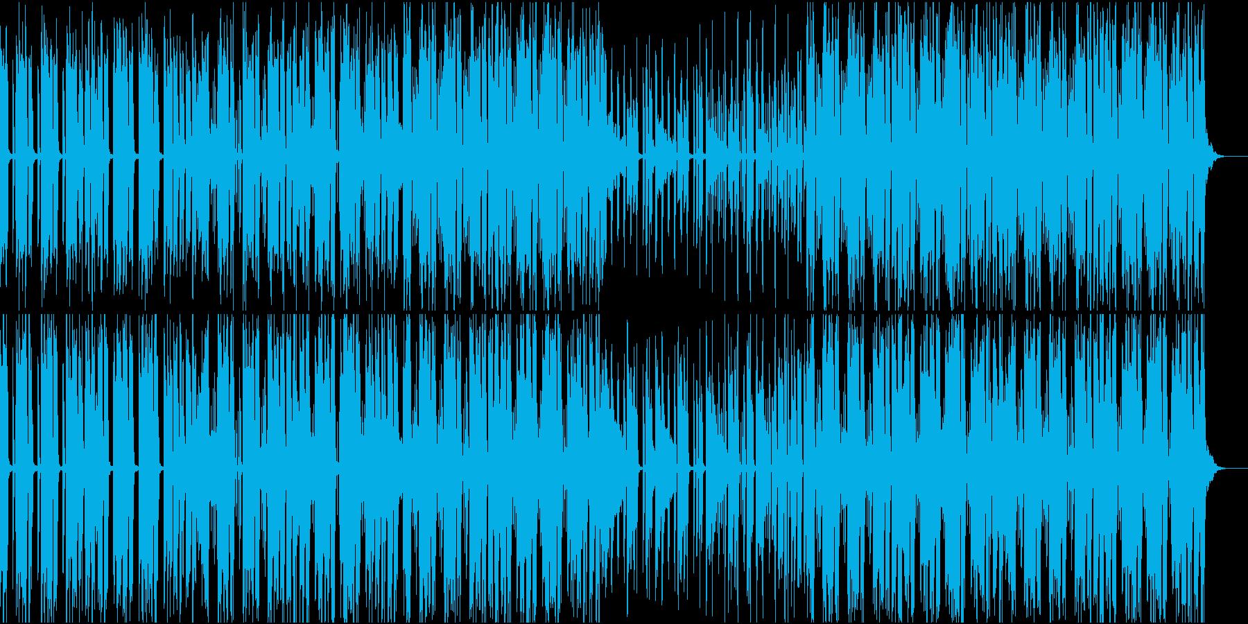 夜の浮遊感を感じるBGMの再生済みの波形