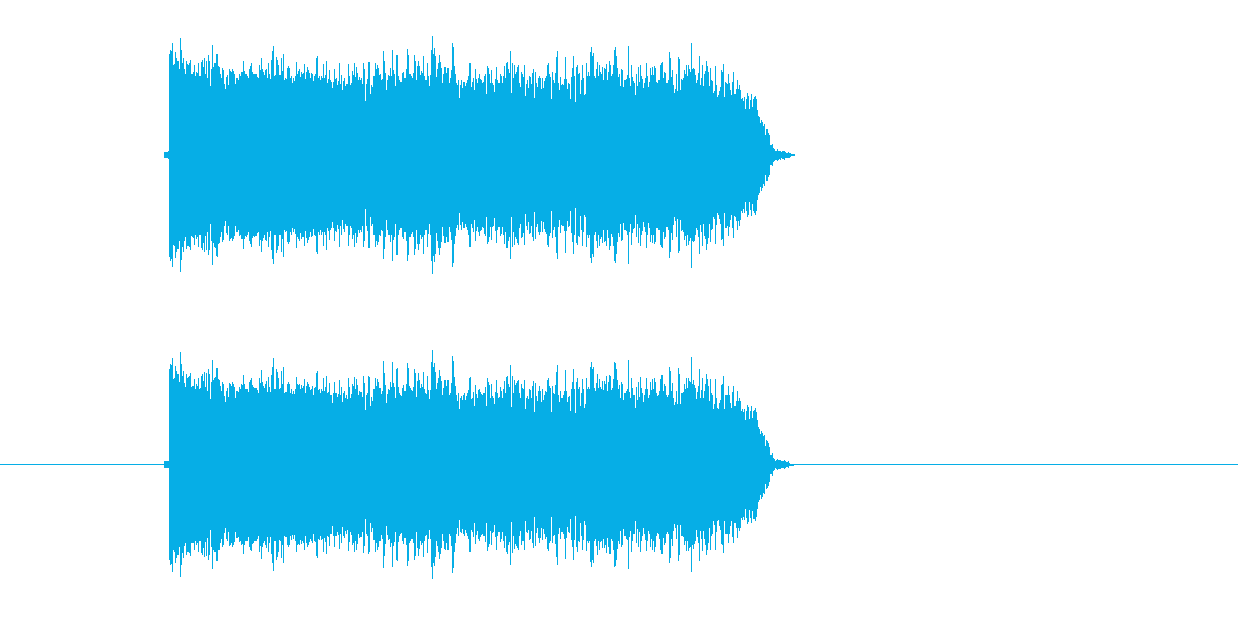 キユユーン!ギタースクラッチの再生済みの波形