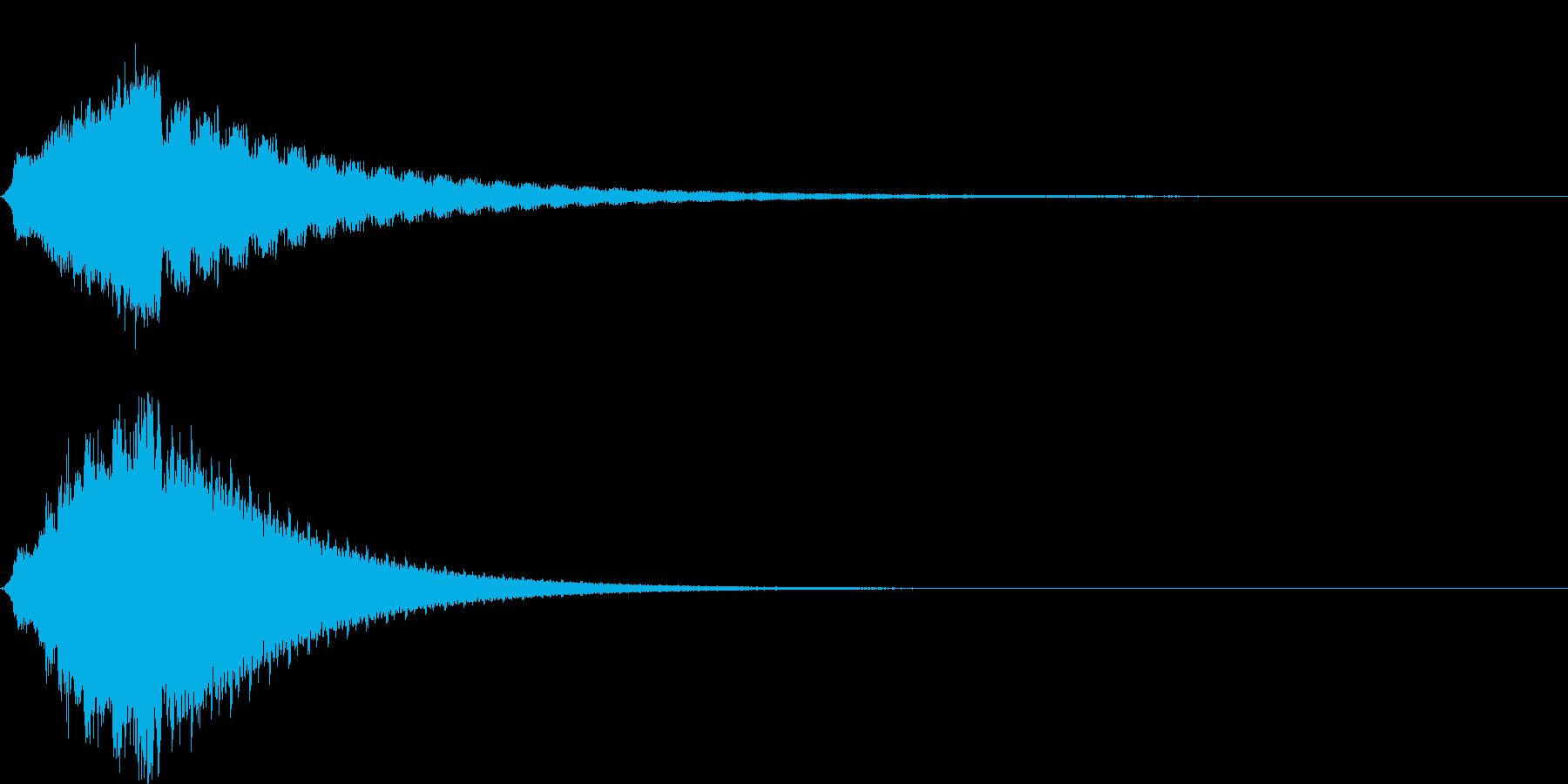 シューン (シリアス,ホラーな雰囲気)の再生済みの波形
