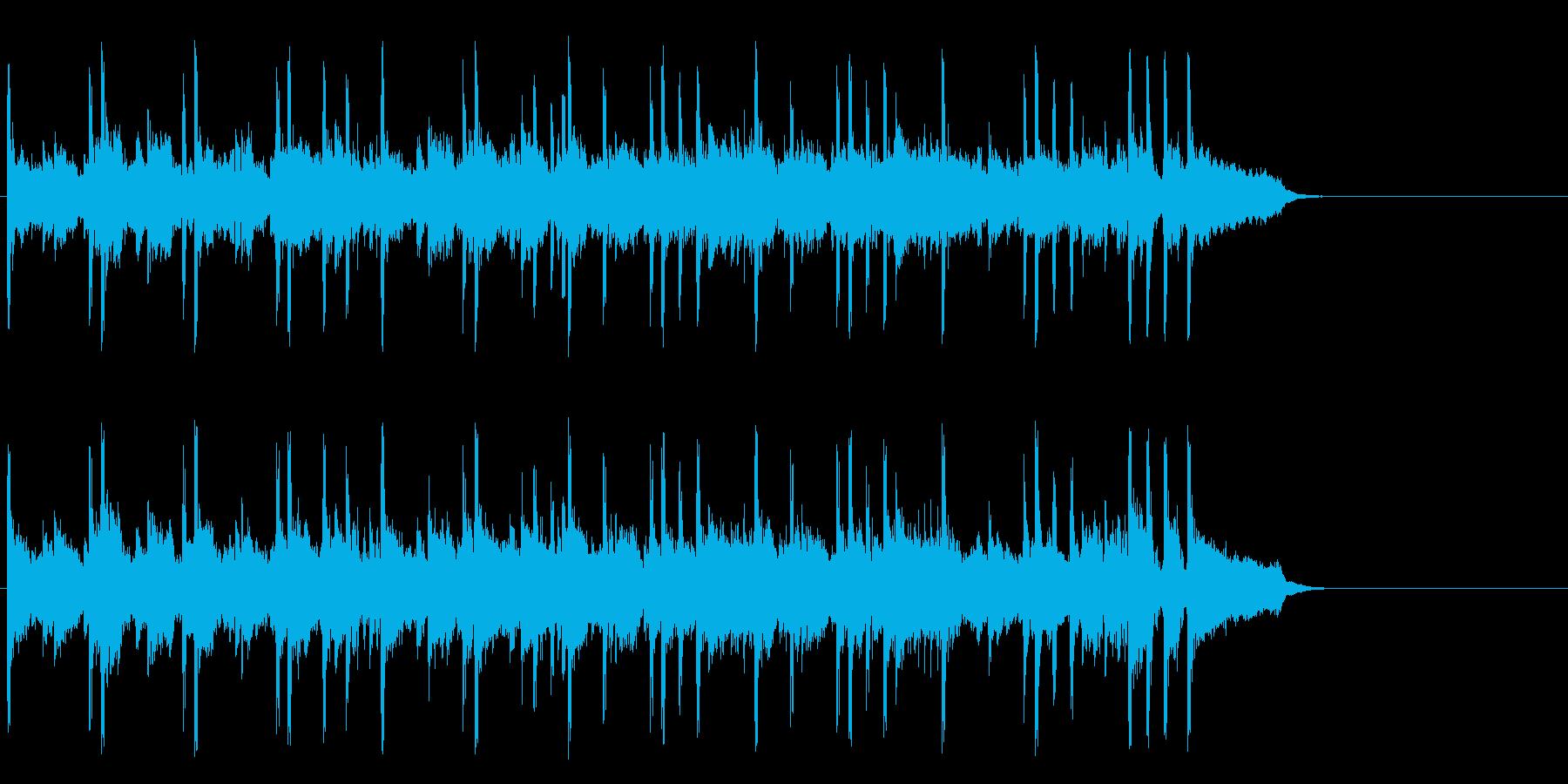 空を飛ぶ鳥のようなポップ(A~サビ~…)の再生済みの波形