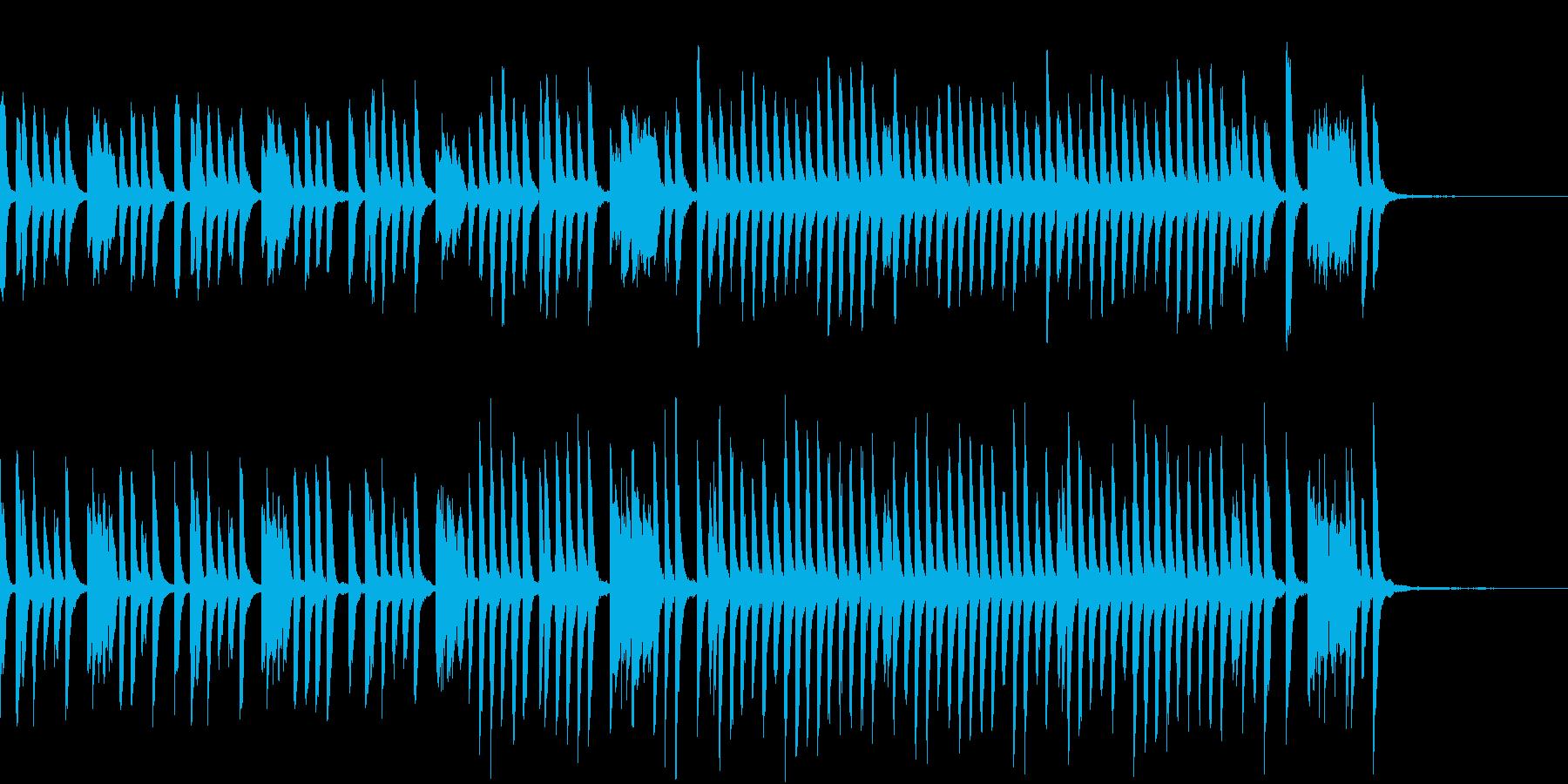 教育テレビ風かわいくて軽快なピアノソロの再生済みの波形