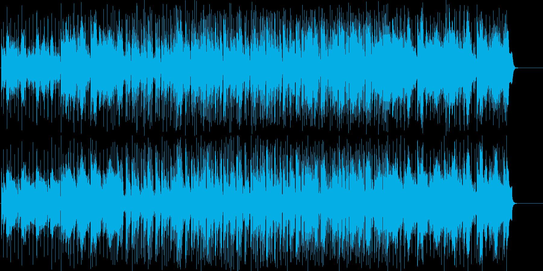 明るい、おしゃれ、情報、さわやか、充実の再生済みの波形