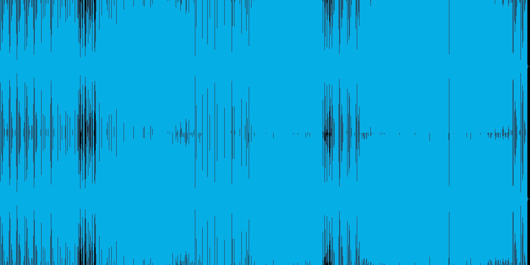 疾走感あるacidhouse の再生済みの波形