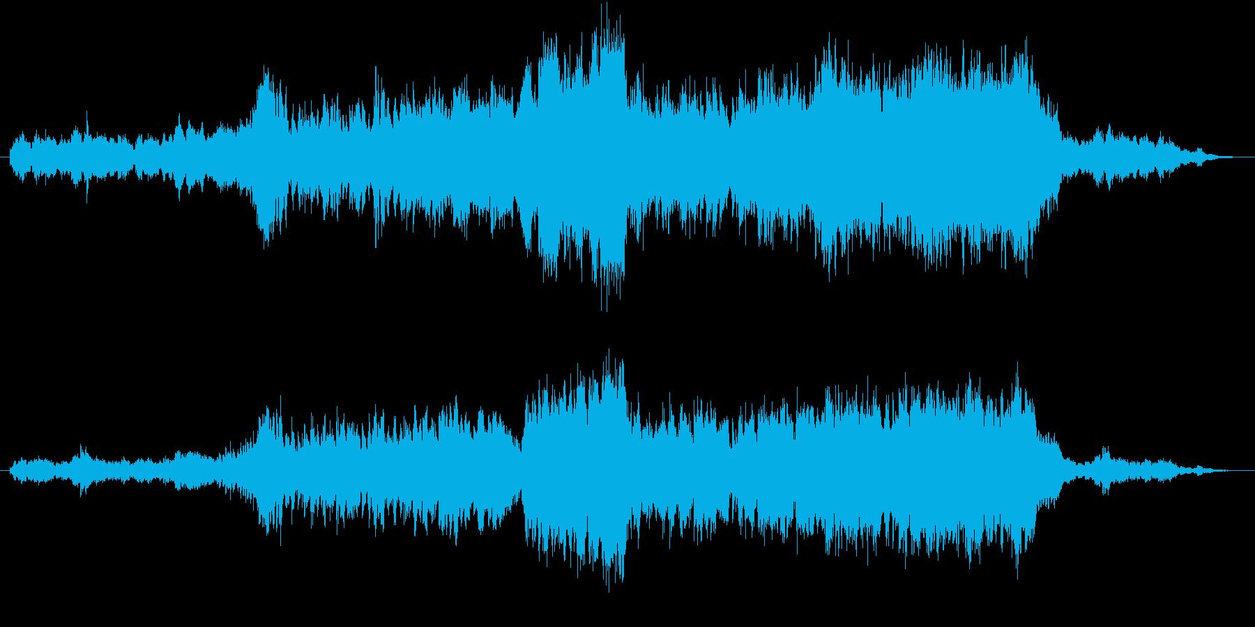 可愛い動物など癒し系動画に合う音楽ですの再生済みの波形
