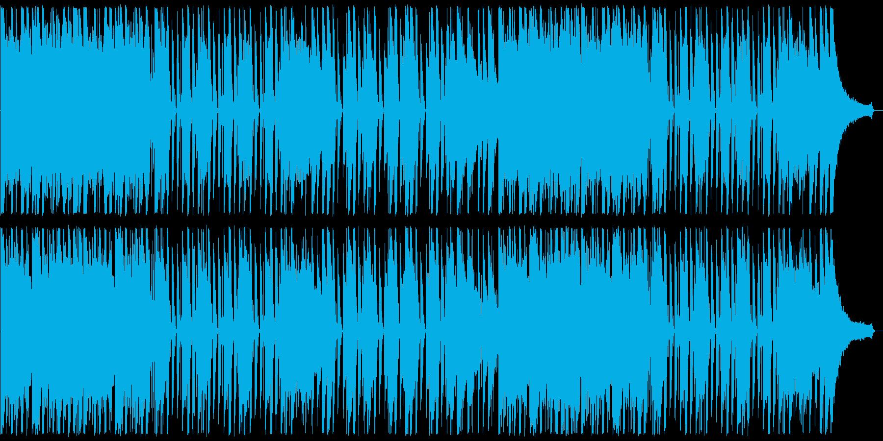 シンプルで明るいピアノ+リズム。プレゼ…の再生済みの波形