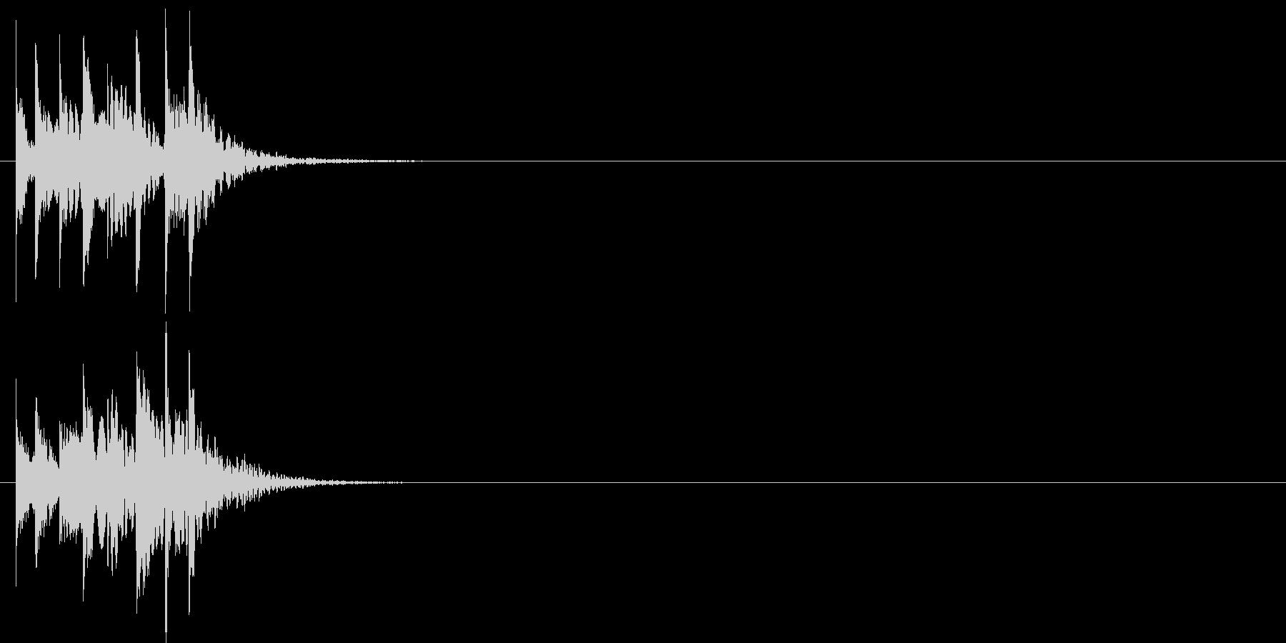 グリッサンド05 シロフォン(上昇)の未再生の波形