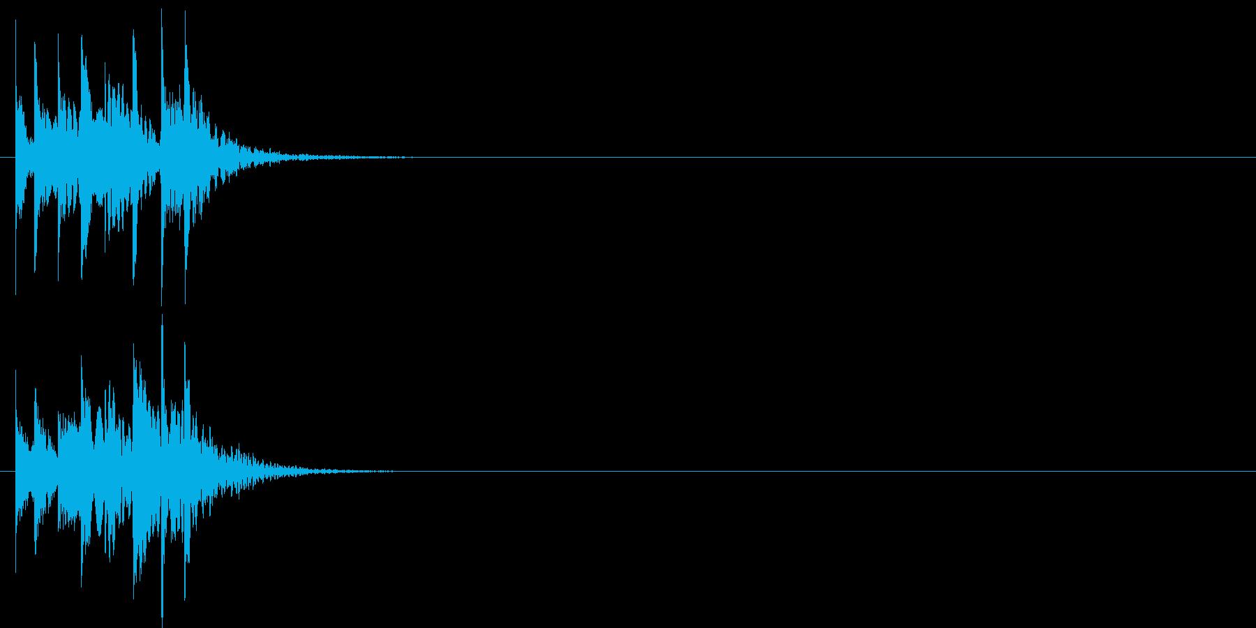 グリッサンド05 シロフォン(上昇)の再生済みの波形