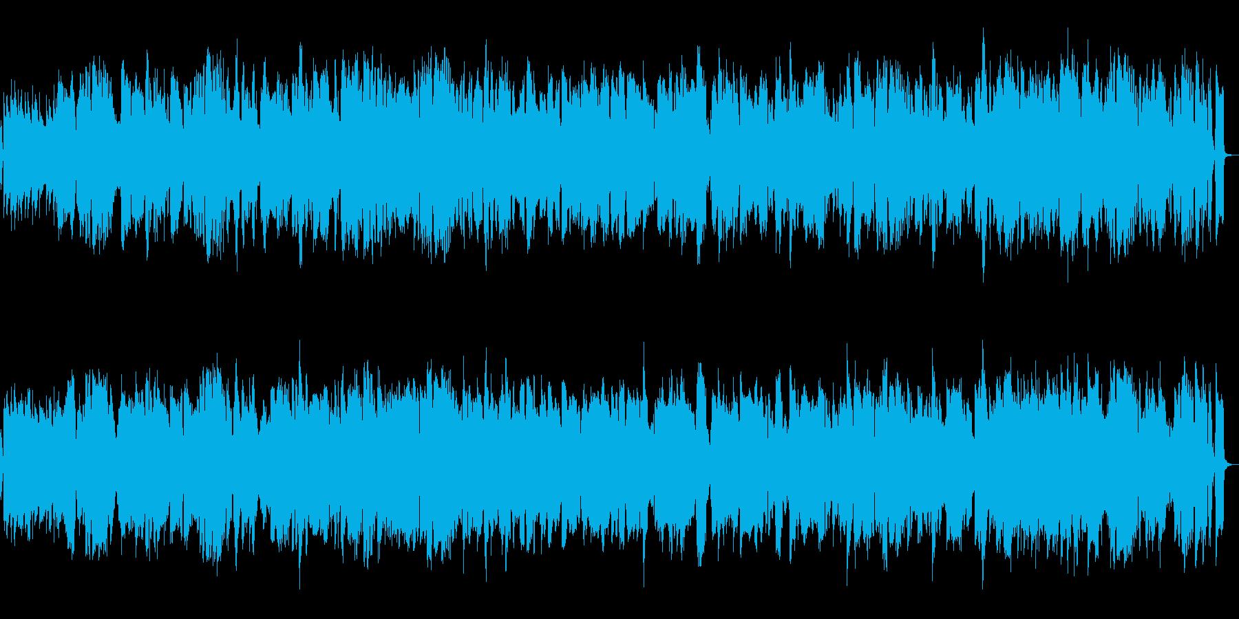 メロディのフルートが優しいジャズの再生済みの波形