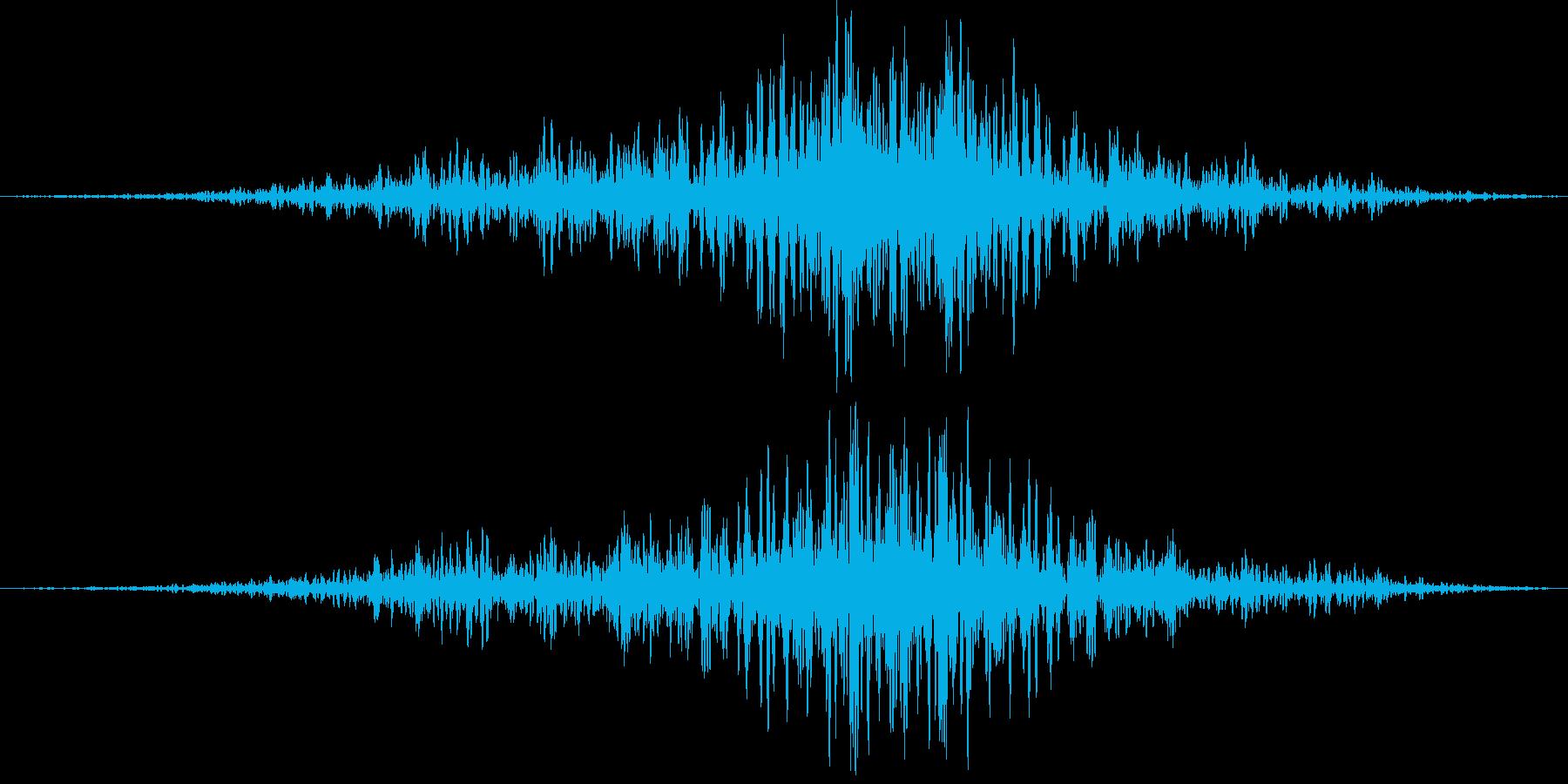189_リバース3の再生済みの波形