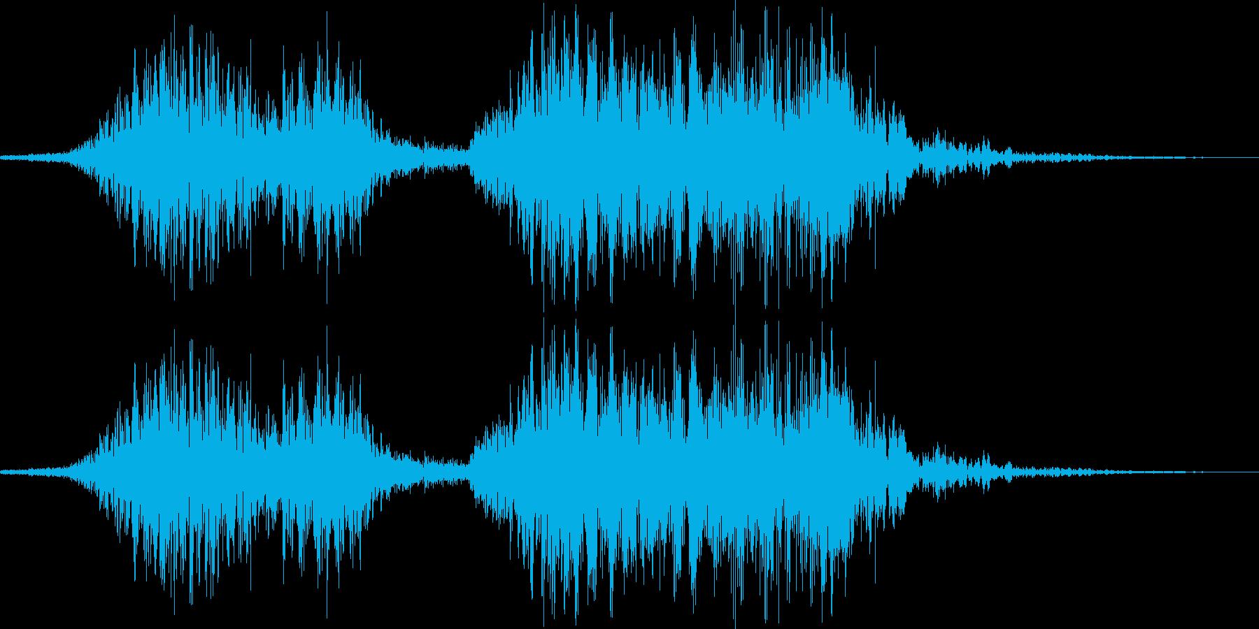 和風掛け声「それそれ」(男複数)の再生済みの波形