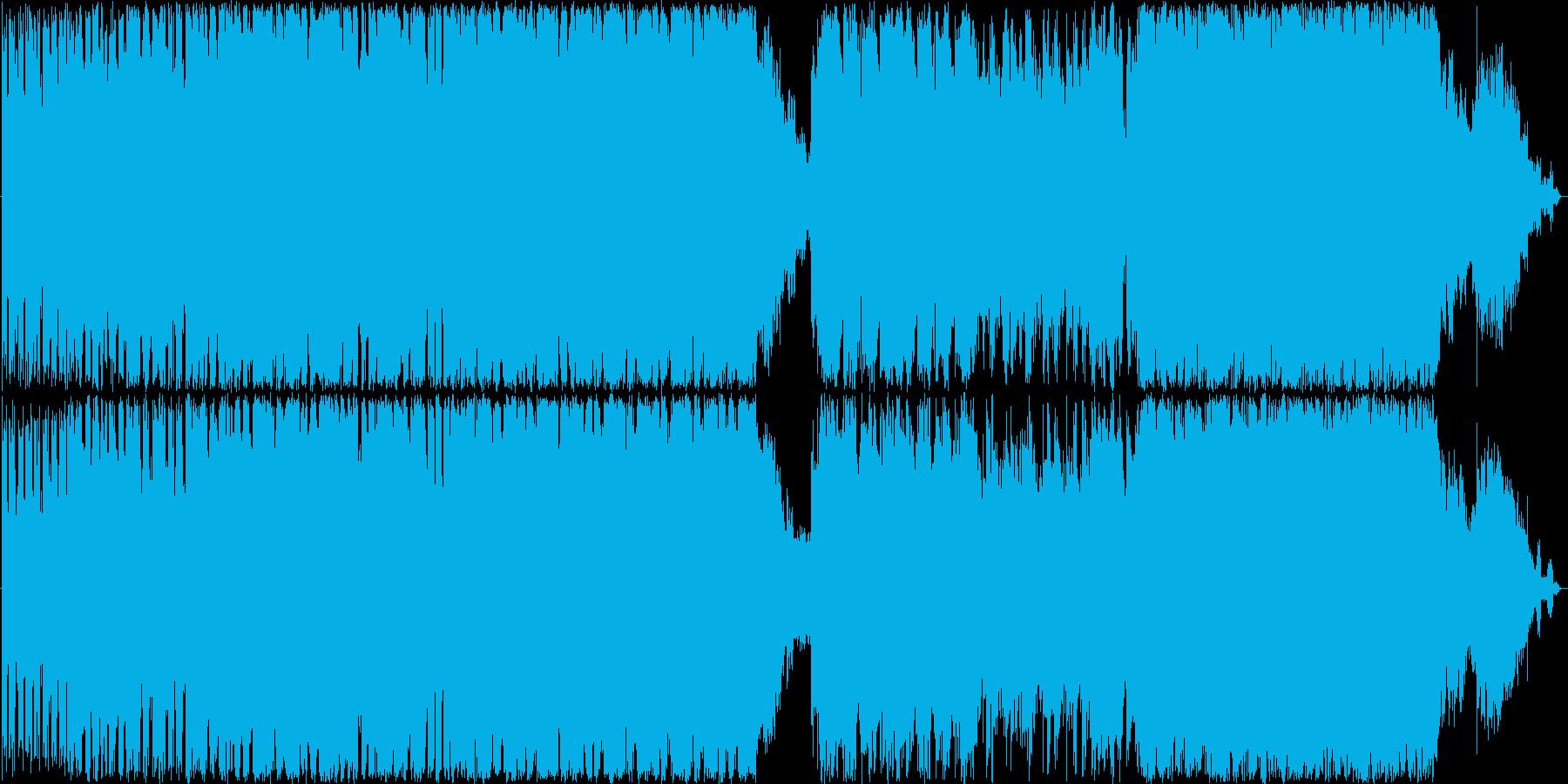ギターインストゥルメンタル&オーケストラの再生済みの波形