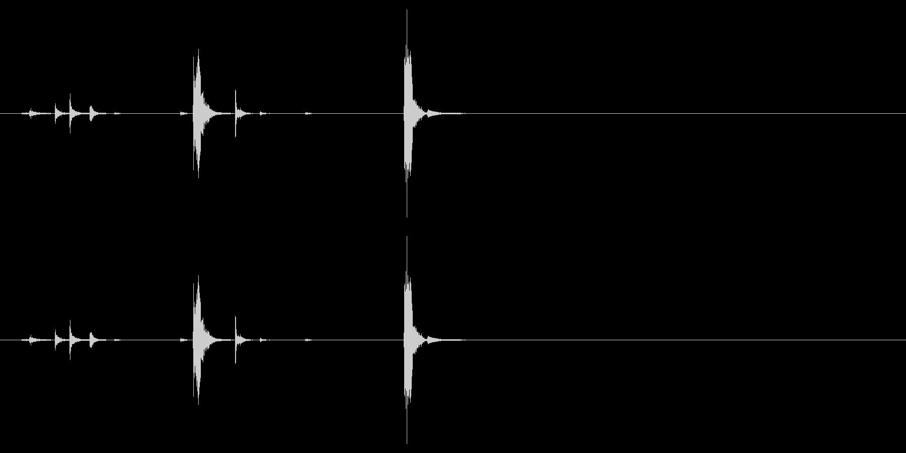 電灯・街灯・蛍光灯・チカチカ点滅光る音2の未再生の波形