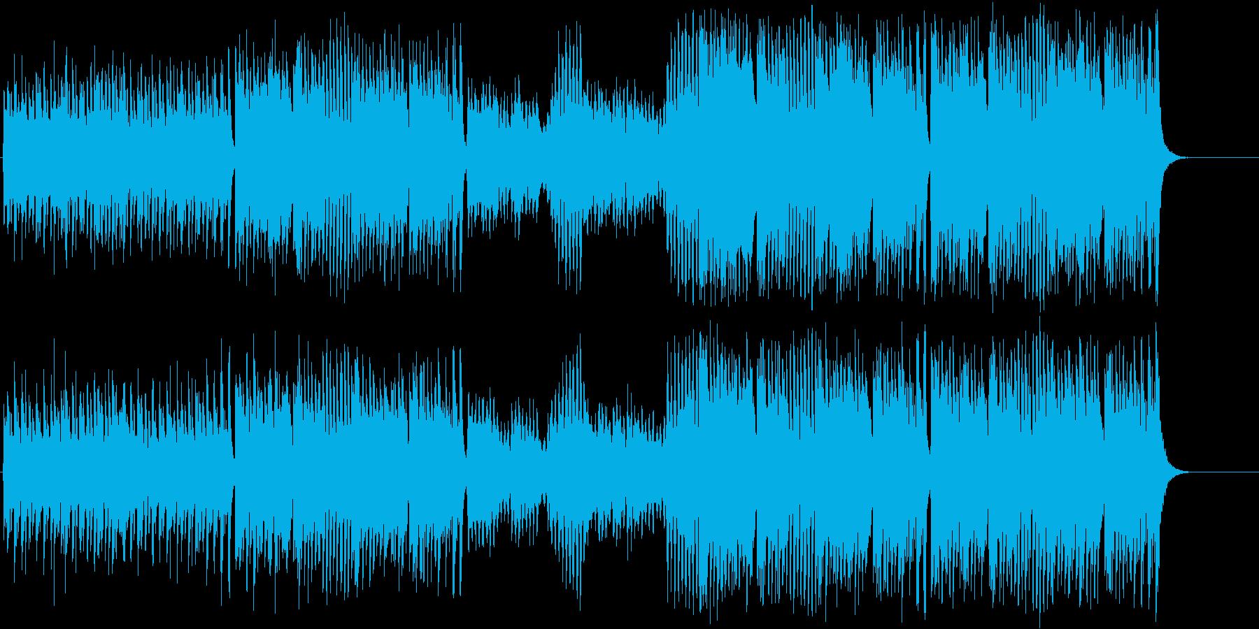 コミカル ペット スピード 元気 運動会の再生済みの波形