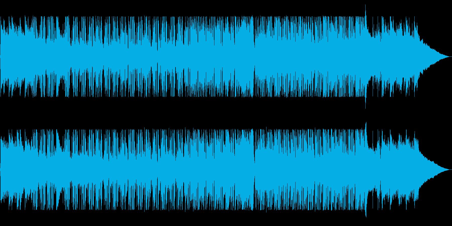 爽やかなギターポップスの再生済みの波形