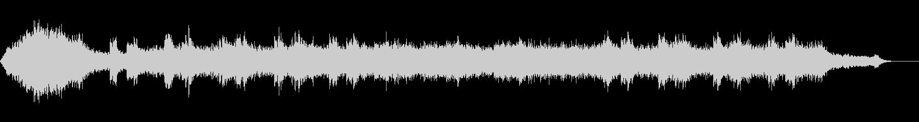 アンビエント環境音楽ヒーリング-06の未再生の波形