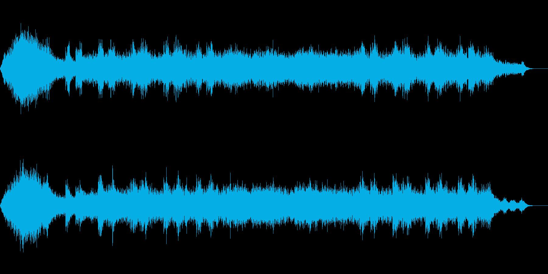 アンビエント環境音楽ヒーリング-06の再生済みの波形