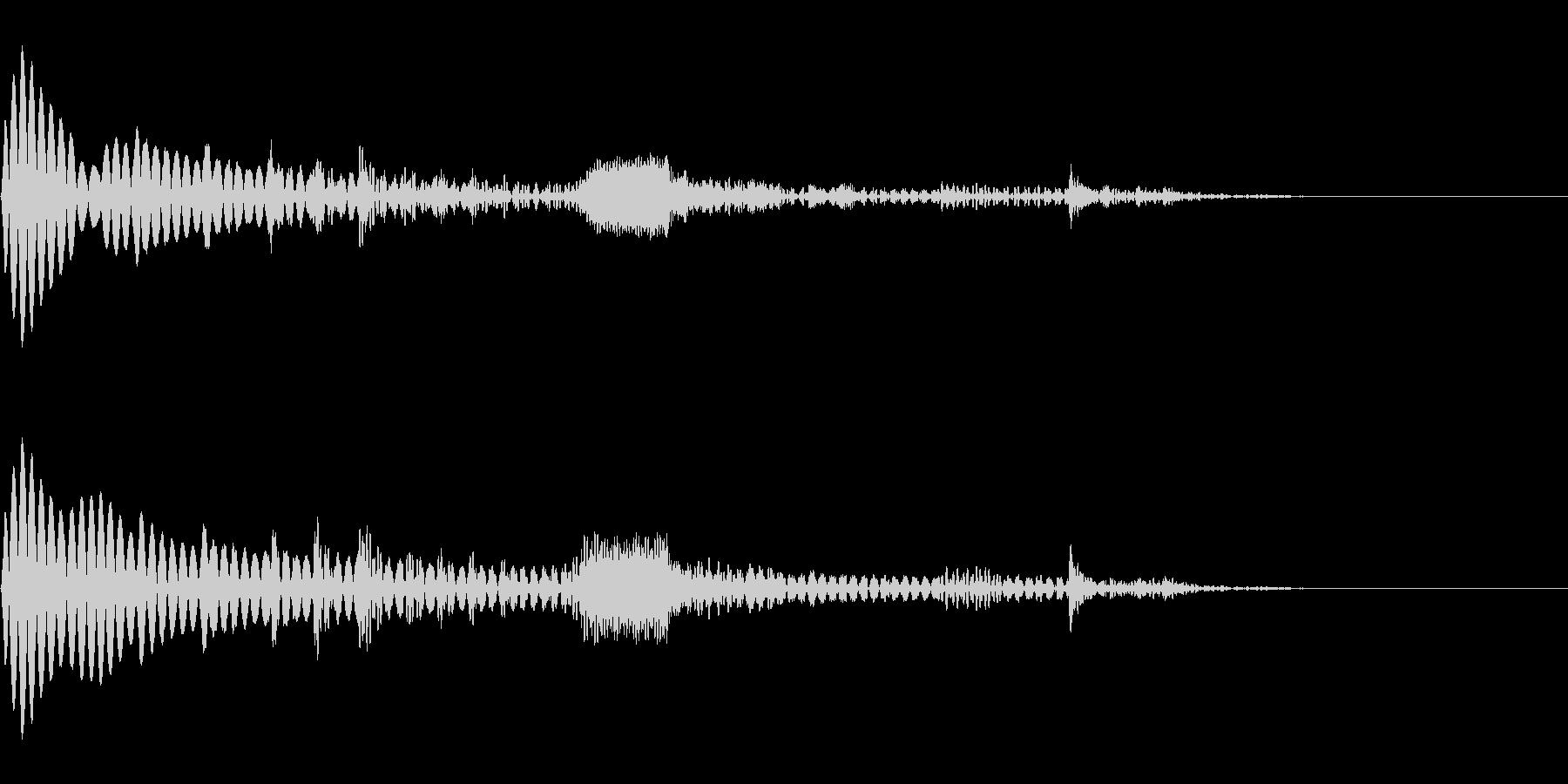 【SE 効果音】SF的な音16の未再生の波形