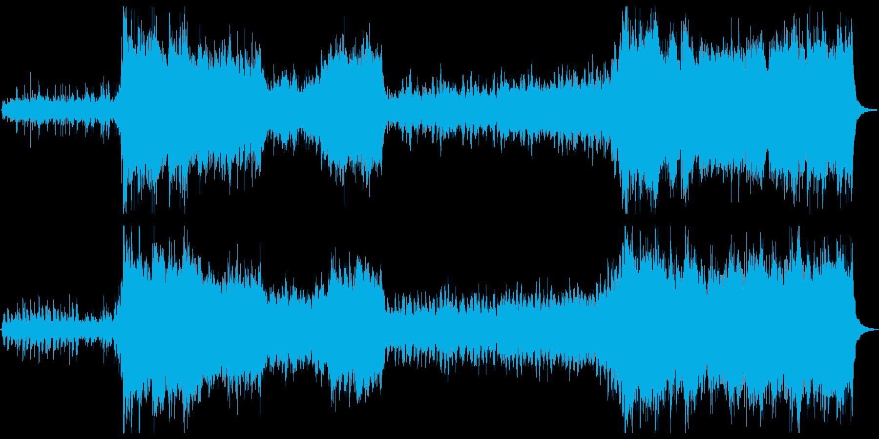 ピアノオーケストラ壮大なオープニング向きの再生済みの波形
