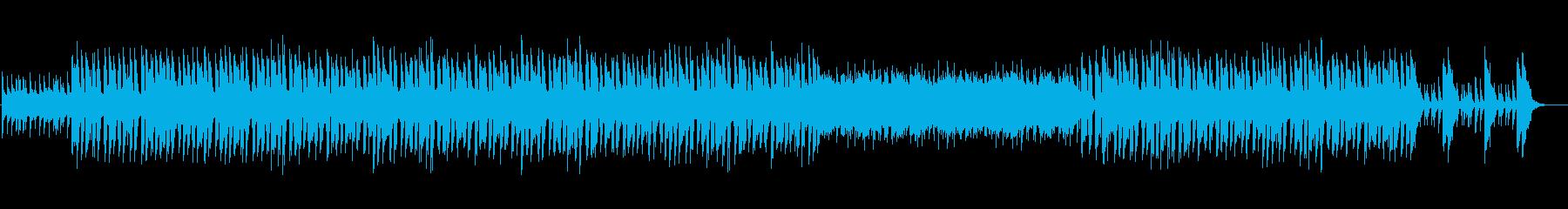 製品紹介向けのポップなインストの再生済みの波形