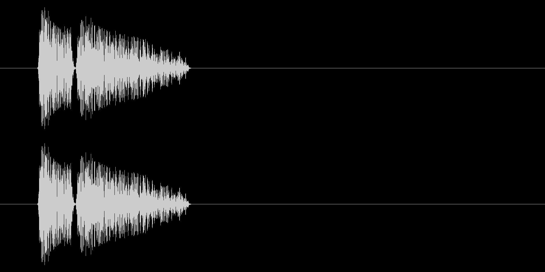 SNES 格闘02-11(ドラム缶)の未再生の波形