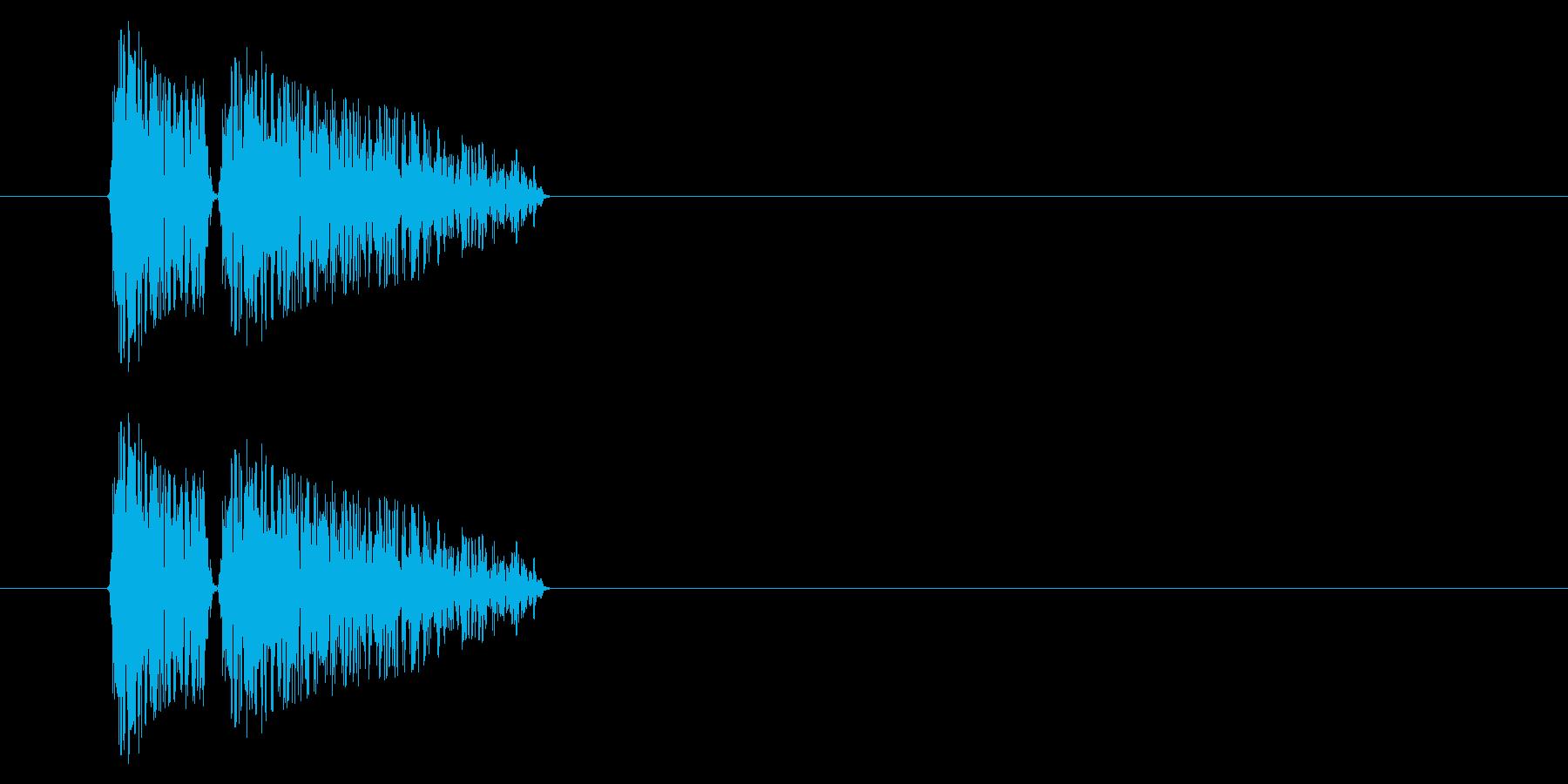 SNES 格闘02-11(ドラム缶)の再生済みの波形