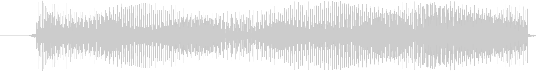【電子音/決定キャンセル/ビー/E】の未再生の波形