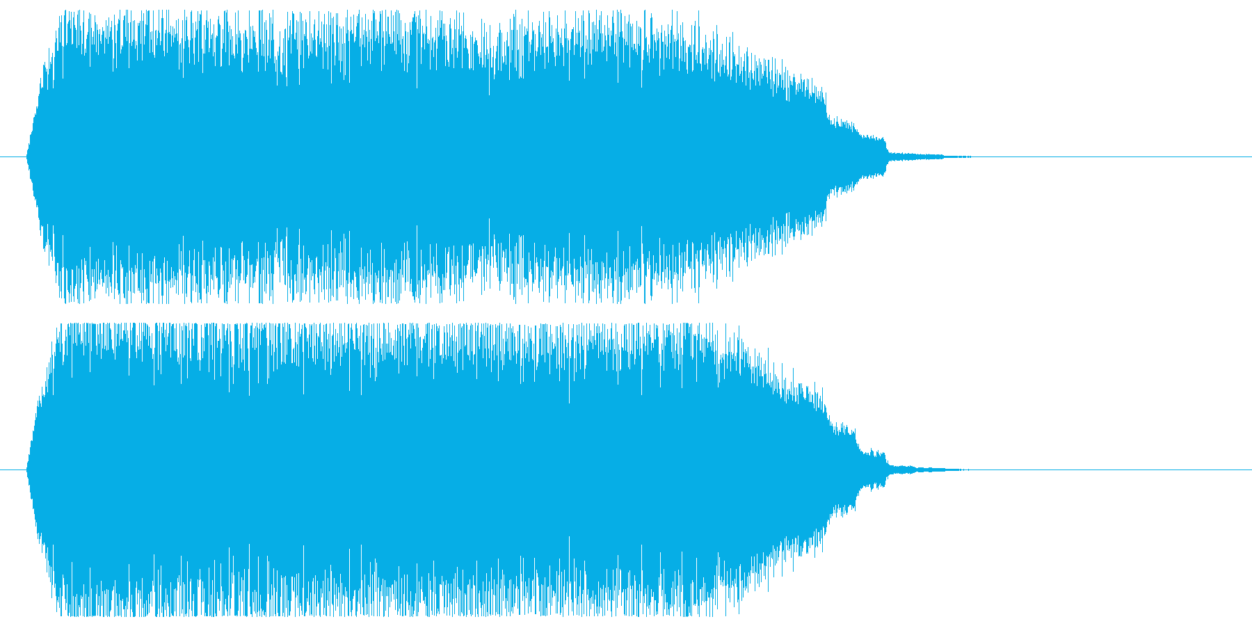 上昇_スパイラルの再生済みの波形