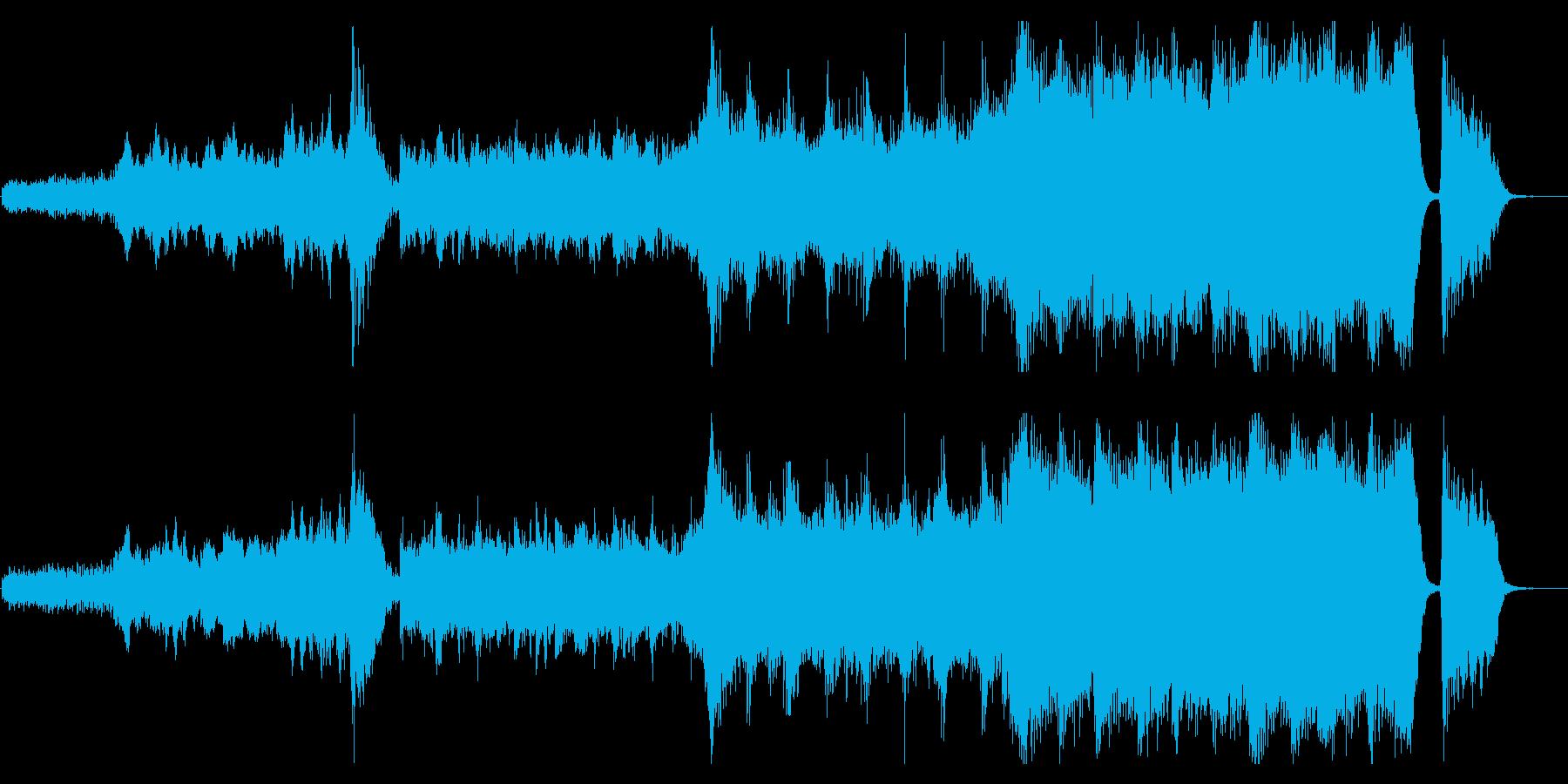 感動が最高潮に達するハイブリッドなオケ1の再生済みの波形