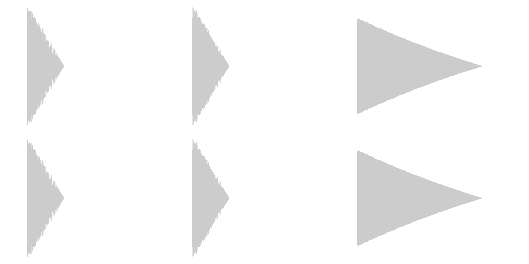 SNES レース02-09(カウントダウの未再生の波形