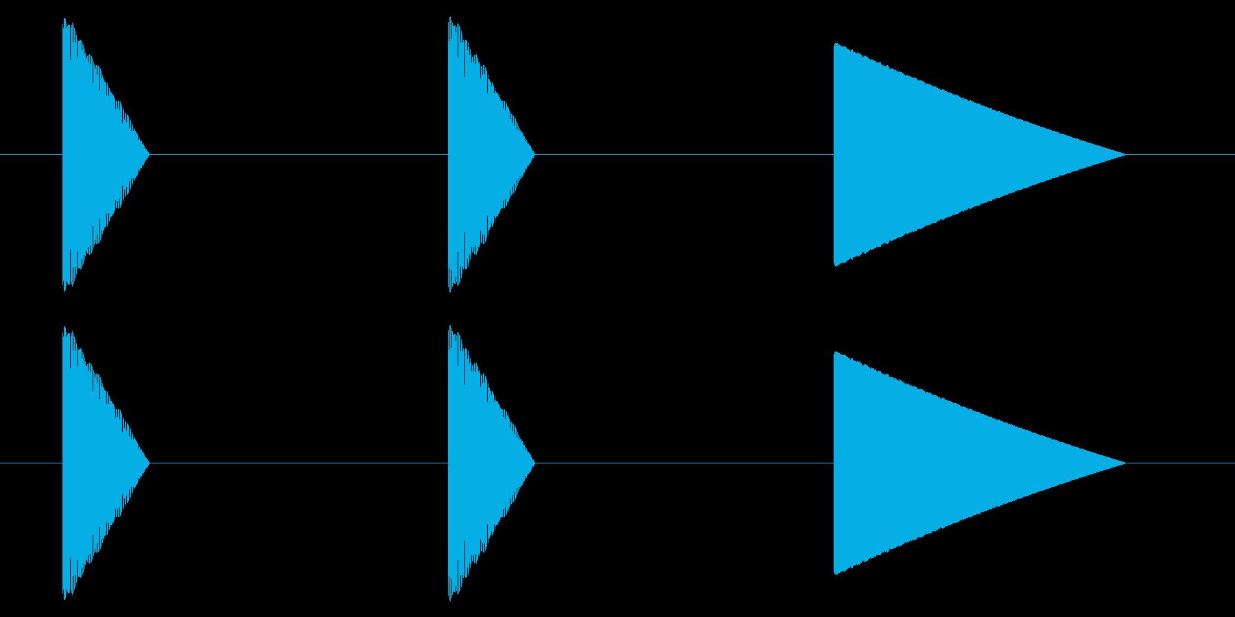 SNES レース02-09(カウントダウの再生済みの波形