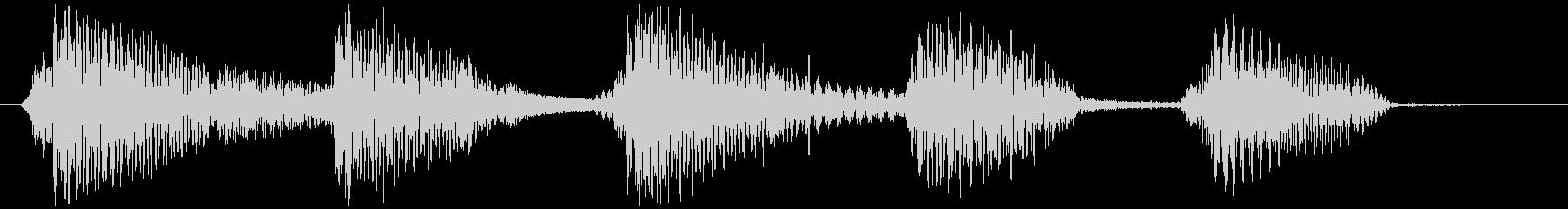 ウクレレ&ギターほのぼのサウンドロゴの未再生の波形