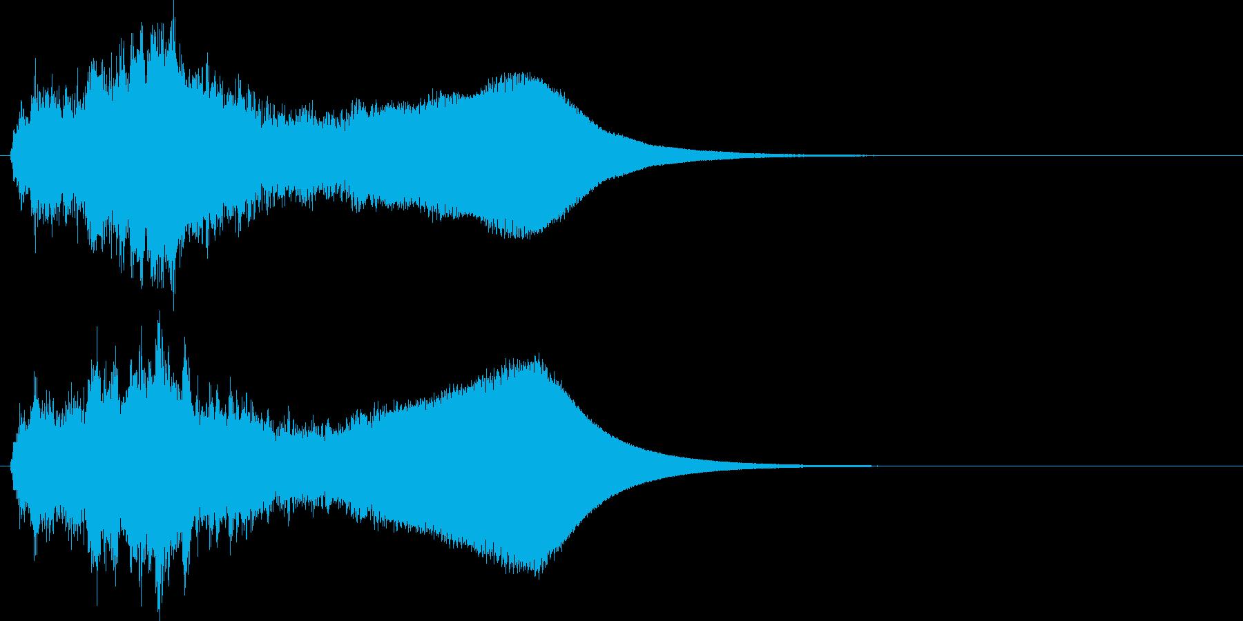 重厚 宇宙 事件 怪しい ドキュメントの再生済みの波形