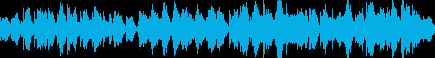 ホラー・魔女の森のオーケストラ・ループ版の再生済みの波形
