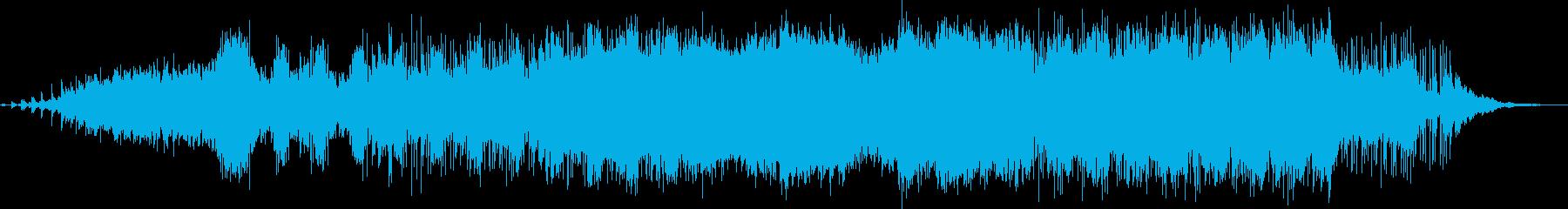 北欧スウェーデン語で歌う満点の星空の再生済みの波形