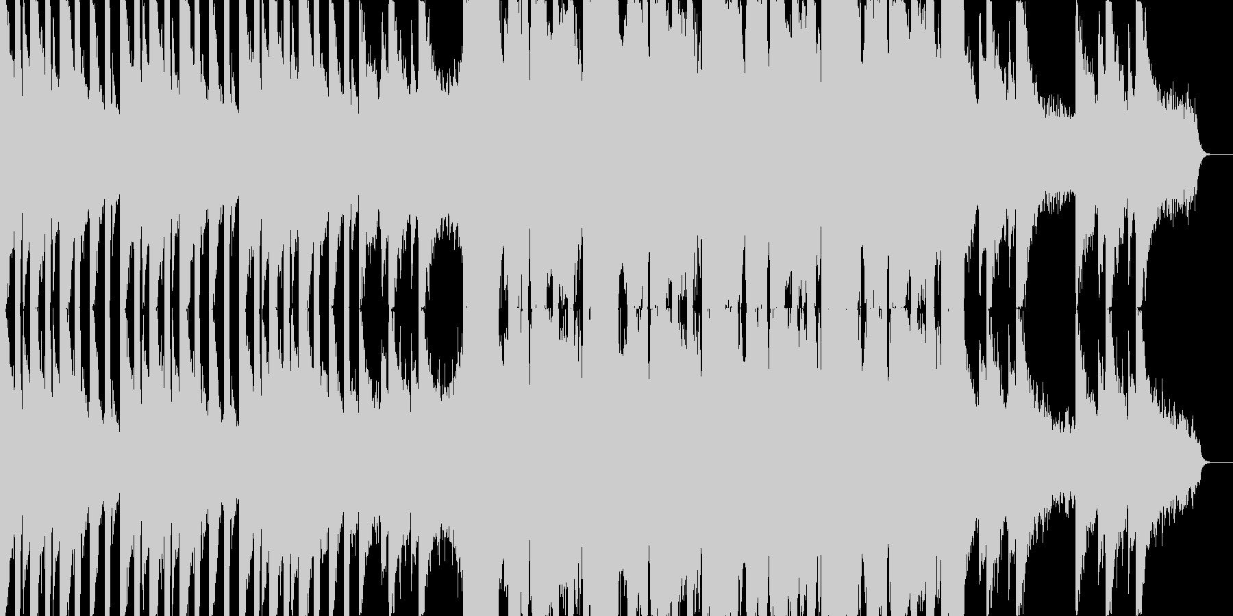 アブストラクトな正統派ダブステップの未再生の波形